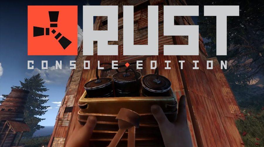 Double Eleven divulga 17 minutos de gameplay de Rust: Console Edition no PS4 Pro