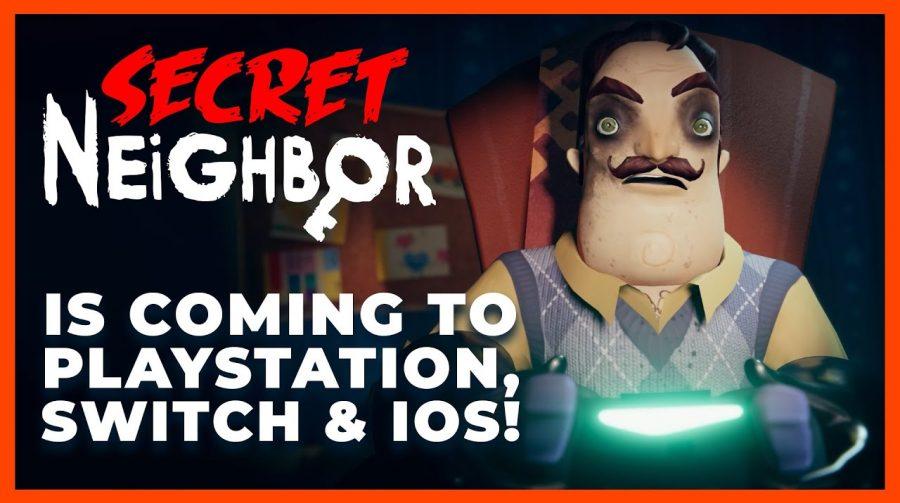 Multiplayer de terror, Secret Neighbor chega ao PS4 no final de abril