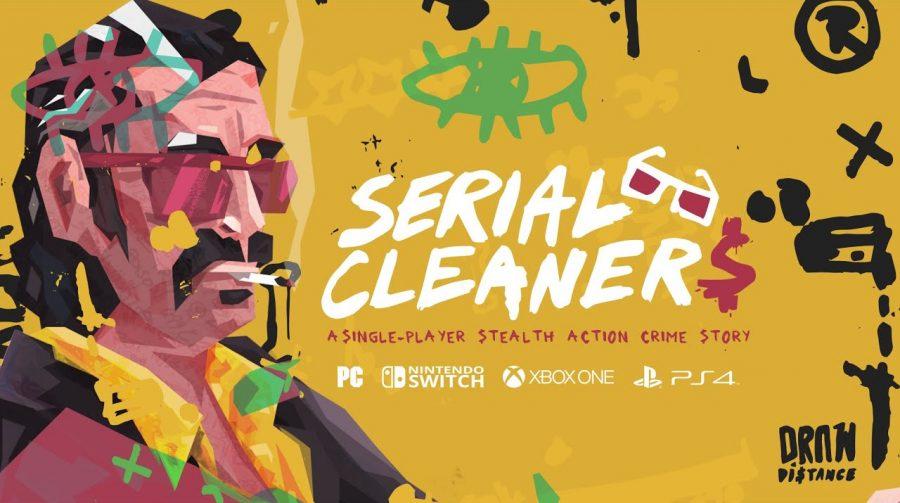 No estilo Anos 90, trailer de Serial Cleaners aparece na FGS