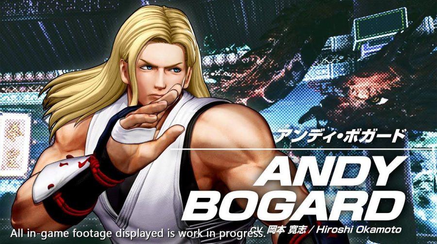 Novo trailer de The King of Fighters XV foca em Andy Bogard