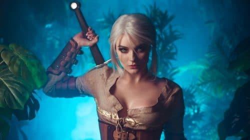 Cosplay de Ciri, de The Witcher 3, impressiona pela fidelidade