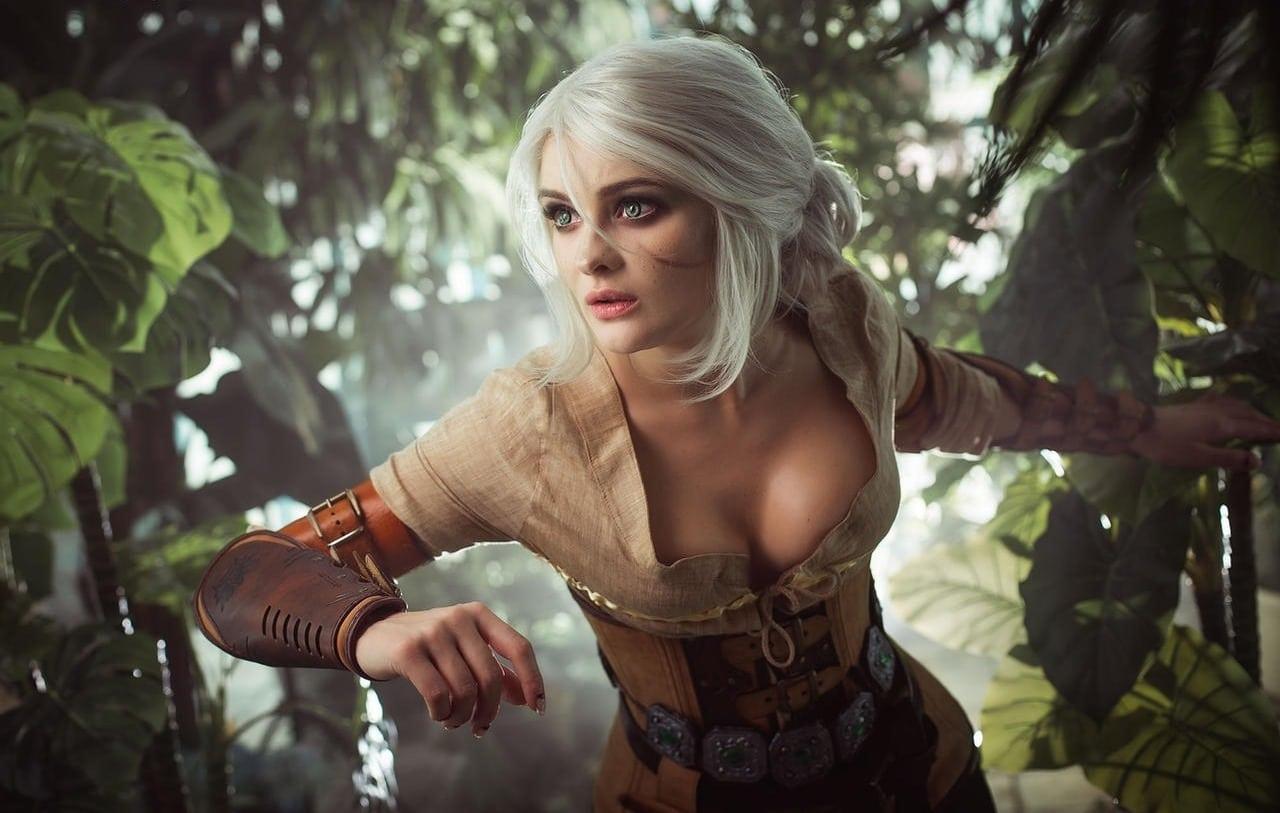 Cosplay de Ciri em The Witcher 3