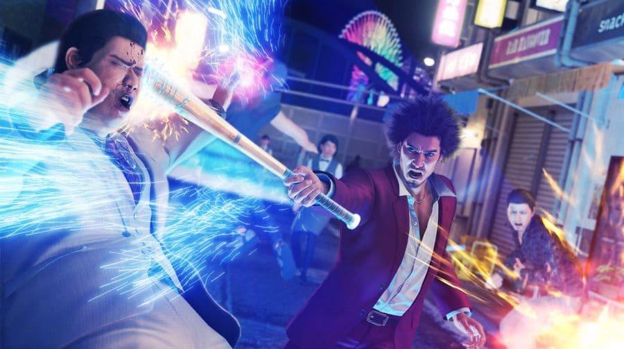 Yakuza: Like a Dragon enfrenta problemas com upgrade gratuito no PS5
