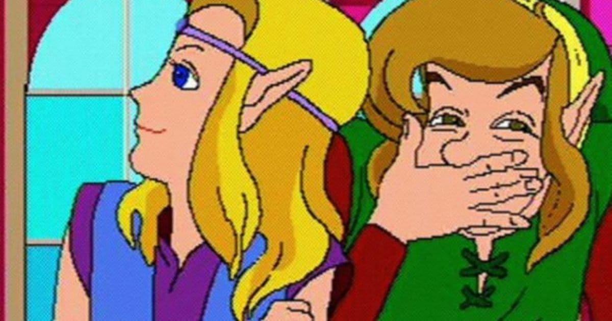 Zelda: The Faces of Evil, game lançado para CD-I