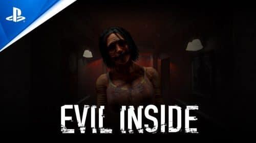 Evil Inside, comparado com P.T., chega em março para PS5 e PS4