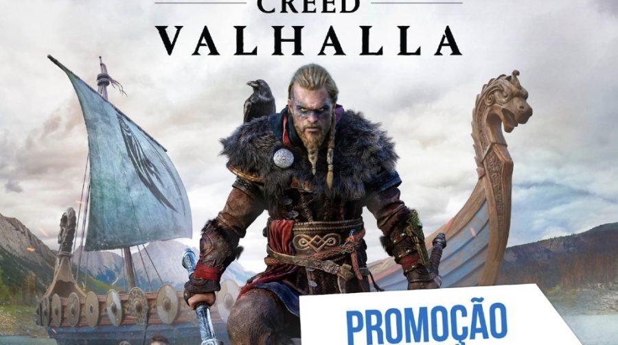 Promoção da Semana na PS Store tem Assassin's Creed Valhalla
