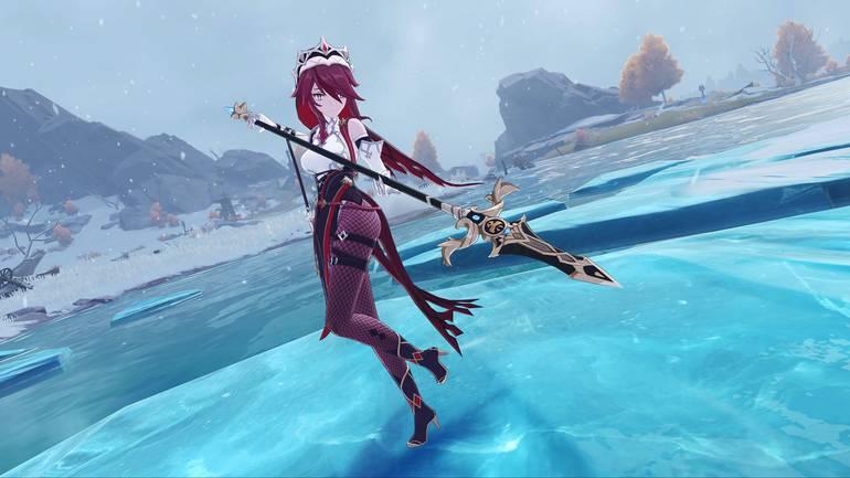 Rosaria, nova personagem de Genshin Impact