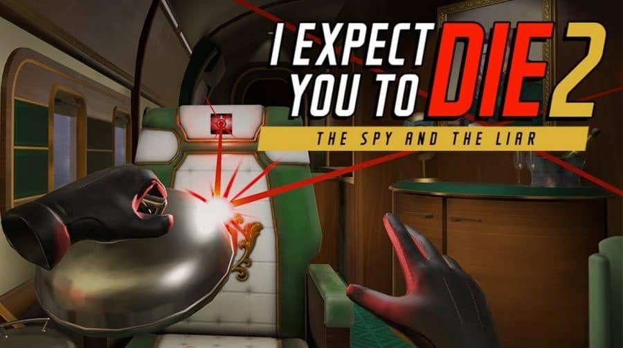 Atenção espiões! I Expect You To Die 2 chegará ao PS VR
