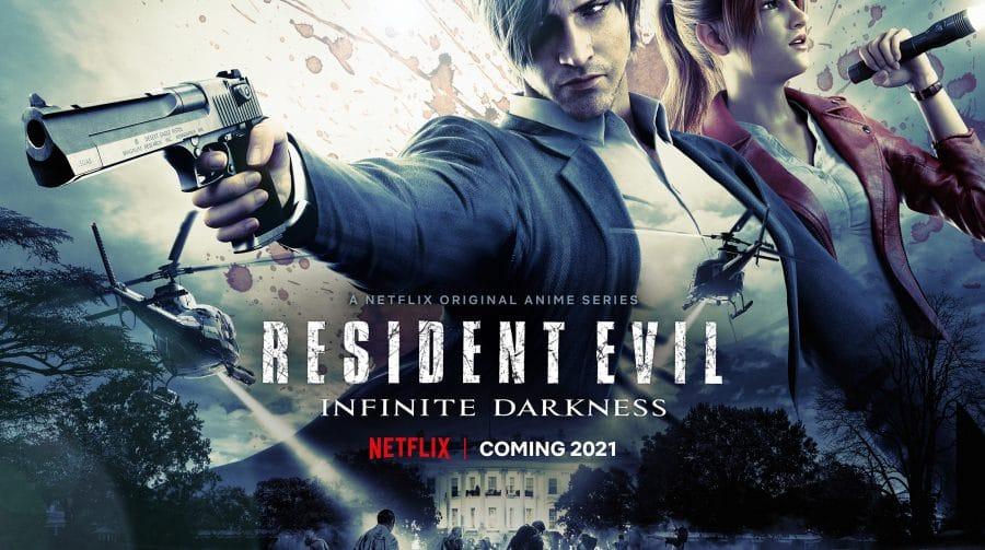Animação de Resident Evil na Netflix terá atores do remake de RE 2