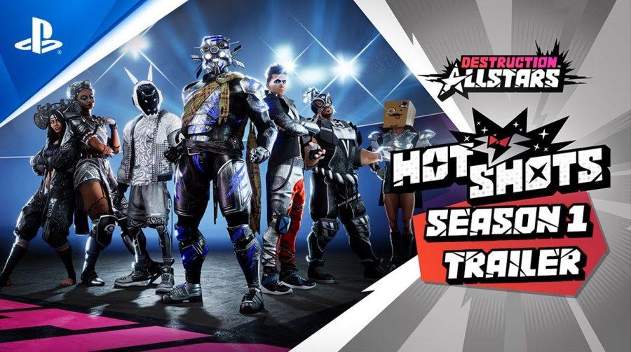 Destruction AllStars: season 1 chega em maio com nova AllStar e Passe de Batalha