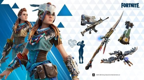 Torneio premiará jogadores com skin de Aloy em Fortnite