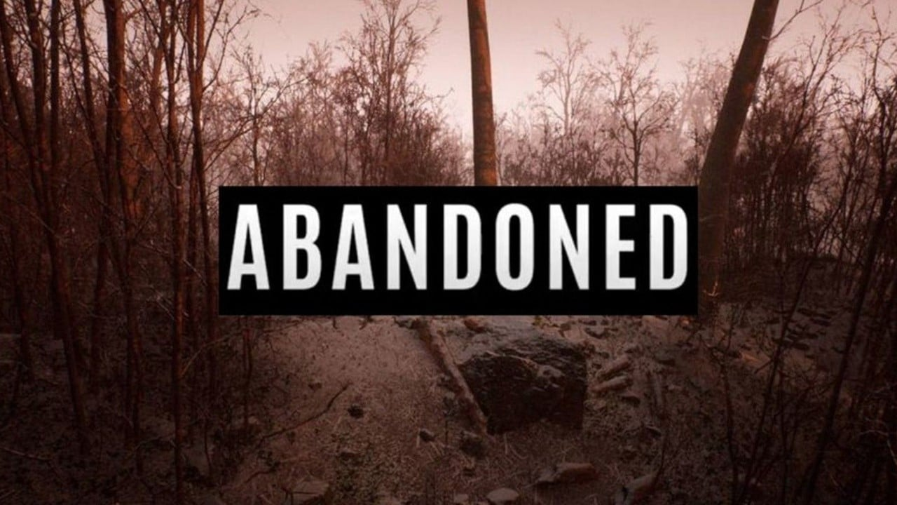 Cenário de Abandoned, novo game de terror exclusivo de PlayStation 5.
