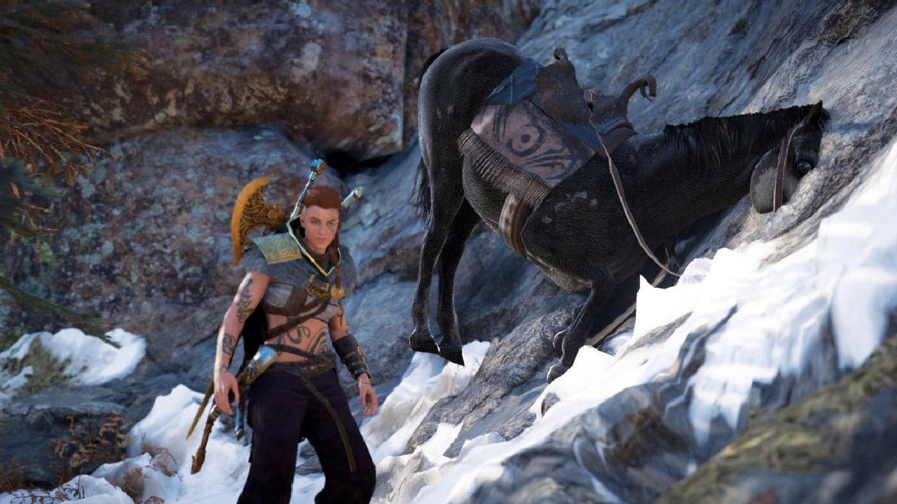 Assassin's Creed Valhalla - Horse Stuck