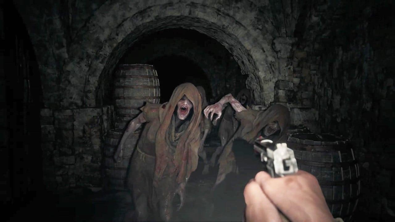 Ethan Winters no calabouço de Resident Evil Village, o Áudio 3D será um dos grandes diferenciais na exploração.