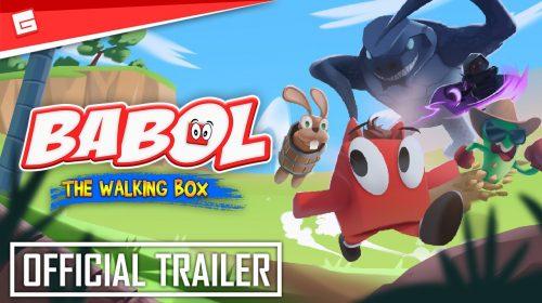 Babol The Walking Box, jogo de plataforma 3D, é anunciado para PS4 e PS5