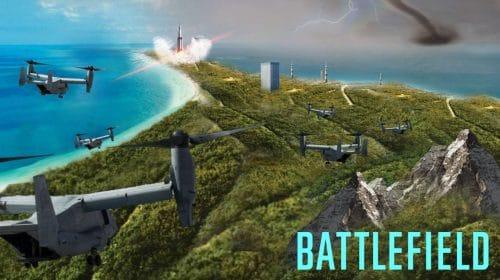Insider divulga esboço de possível primeira imagem do mapa de Battlefield 6