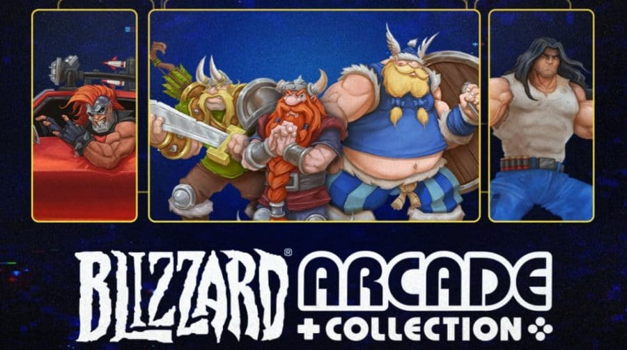 Blizzard Arcade Collection recebe Lost Vikings 2 e RPM Racing em update gratuito