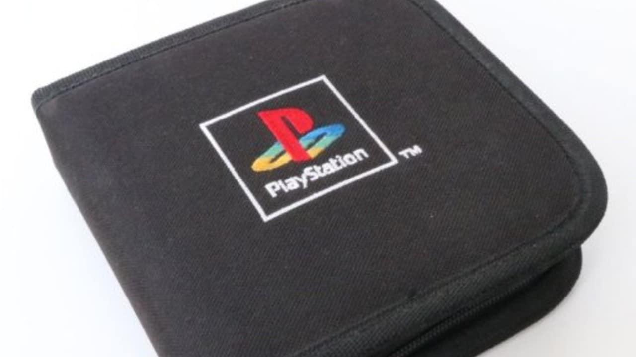 Bolsa para carregar CDS do PlayStation 1