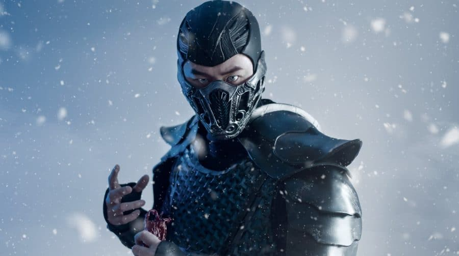 Caprichou! Fã de Mortal Kombat incorpora Sub-Zero em cosplay