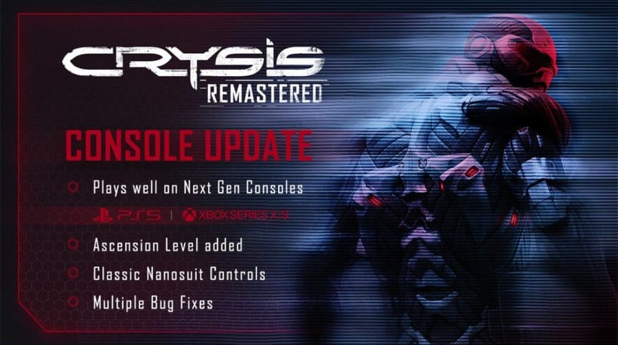 Crysis Remastered recebe patch para rodar a 60 FPS no PlayStation 5