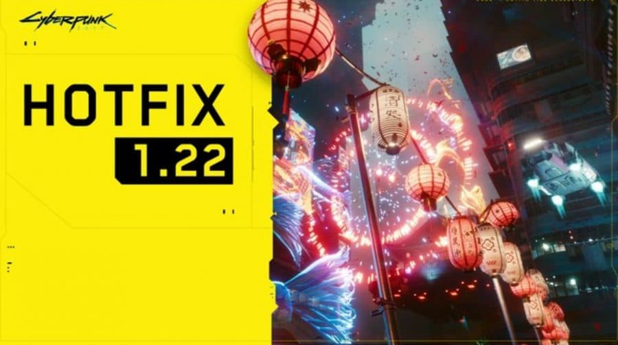CDPR lança o hotfix 1.22 de Cyberpunk 2077; confira as notas do patch