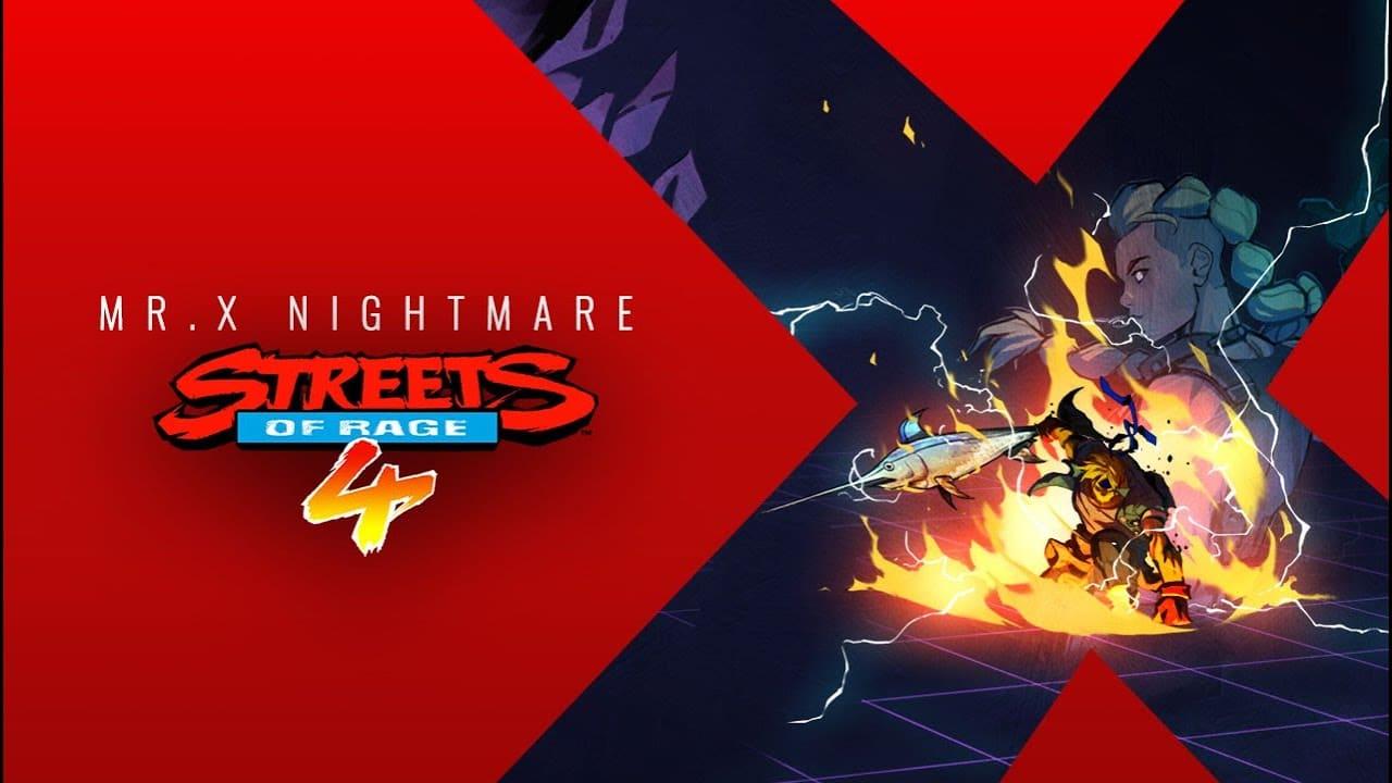 Imagem de capa personagens de Streets of Rage 4 e personagens do jogo ilustrado a foto