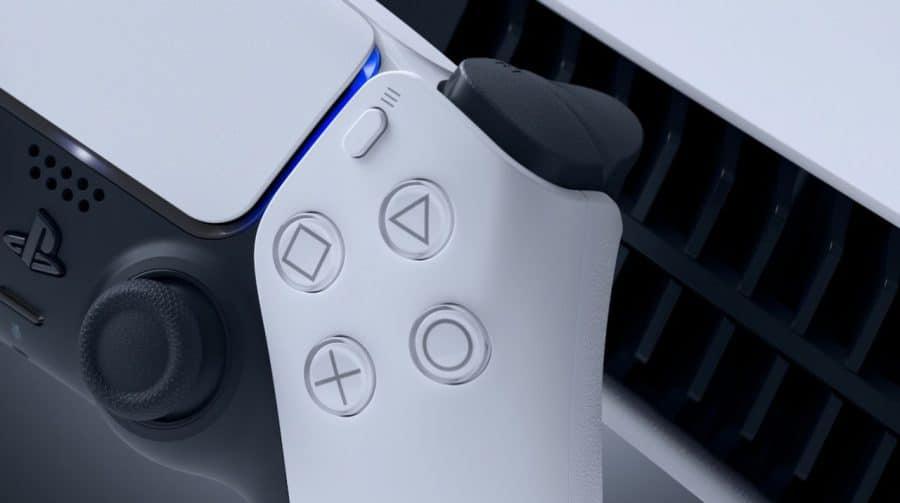 Com o update do PS5, Sony também libera atualização para o DualSense