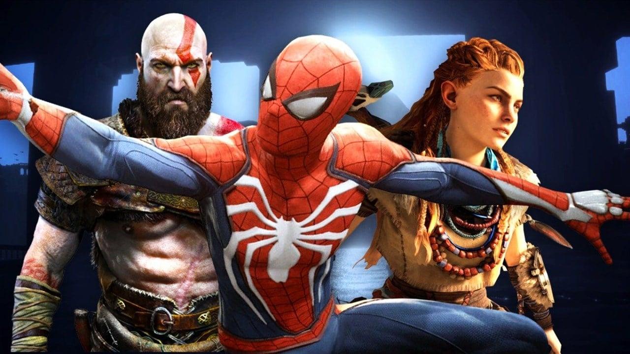 Kratos, Spider-Man e Aloy, protagonistas dos principais exclusivos de PlayStation