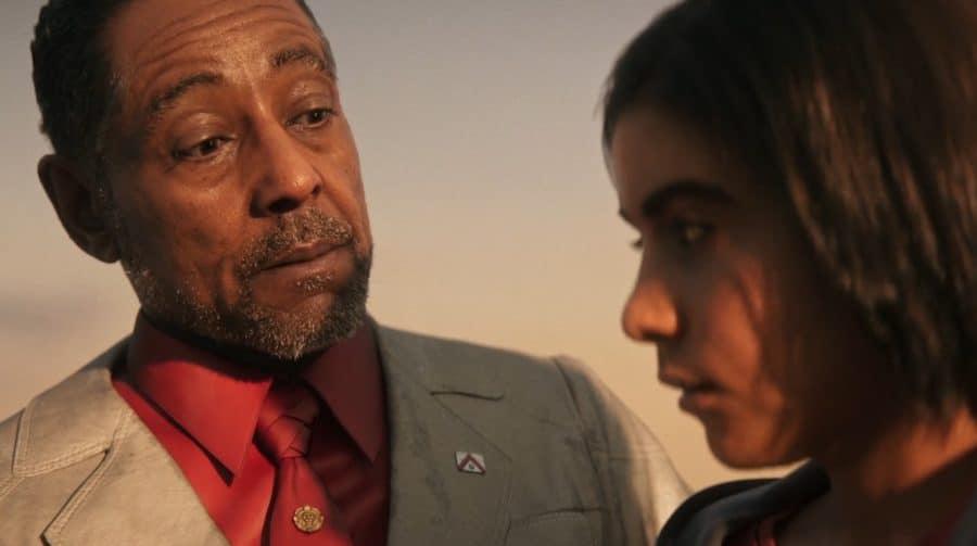 Novo vídeo de Far Cry 6 mostra os bastidores com Giancarlo Esposito