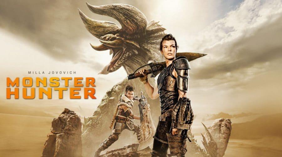 Filme de Monster Hunter chega às lojas digitais e operadoras de TV amanhã (21)