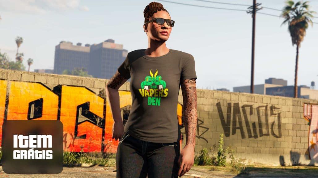 Camiseta Vapers Dan, de GTA Online