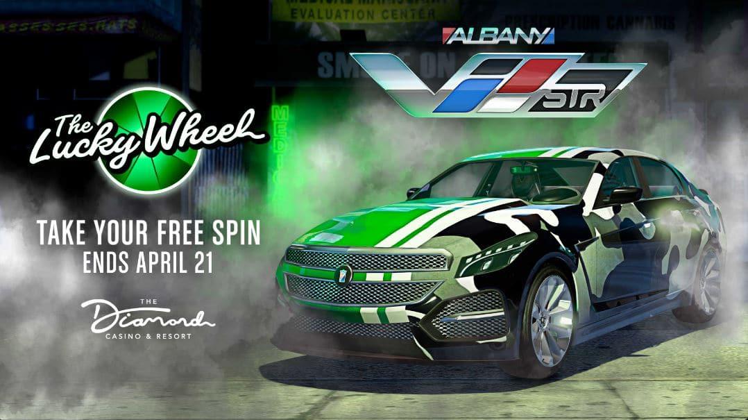 Albany V-STR, veículo de GTA Online