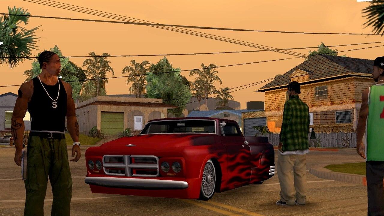 GTA San Andres - Ostentação