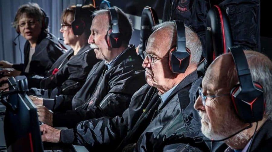 Pesquisa aponta que o número de gamers entre 55 e 64 anos está aumentando