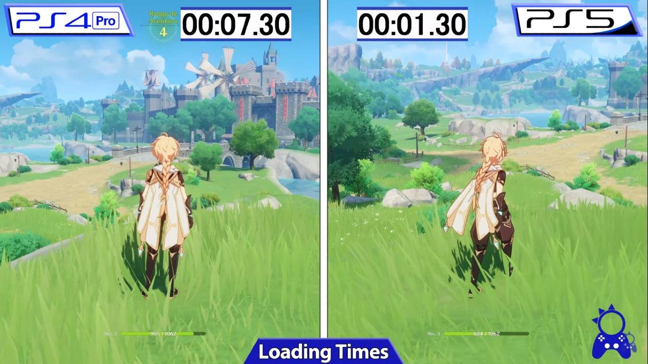 Genshin Impact - Viagem Rápida - Menos de dois segundos no PS5