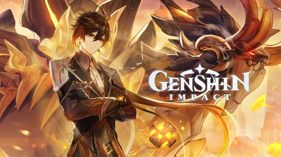 Genshin Impact chega no fim de abril ao PS5, junto com o update 1.5