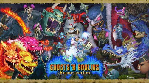 Ghosts 'n Goblins Resurrection chegará ao PS4, anuncia Capcom