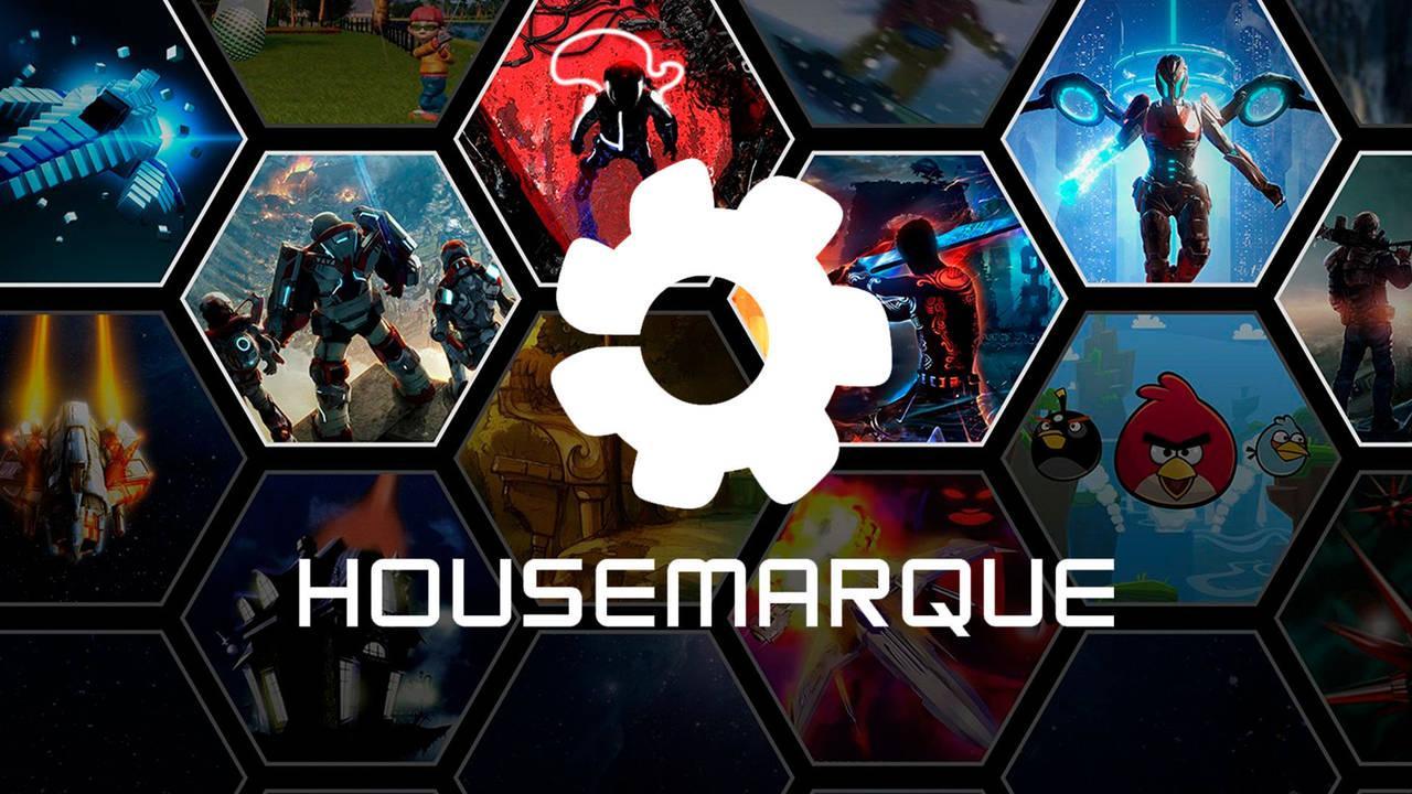 Imagem com os jogos produzidos pelo estúdio Housemarque