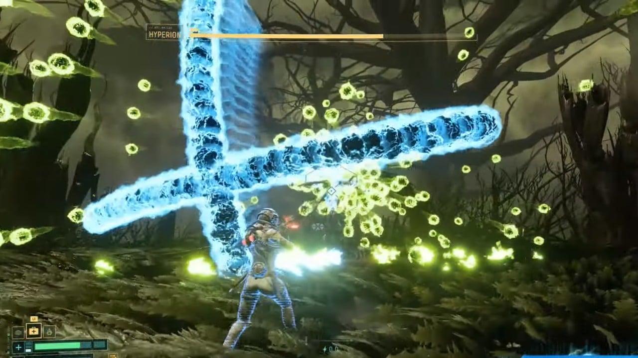 Hyperion - Quarto chefe de Returnal - Habilidade em X