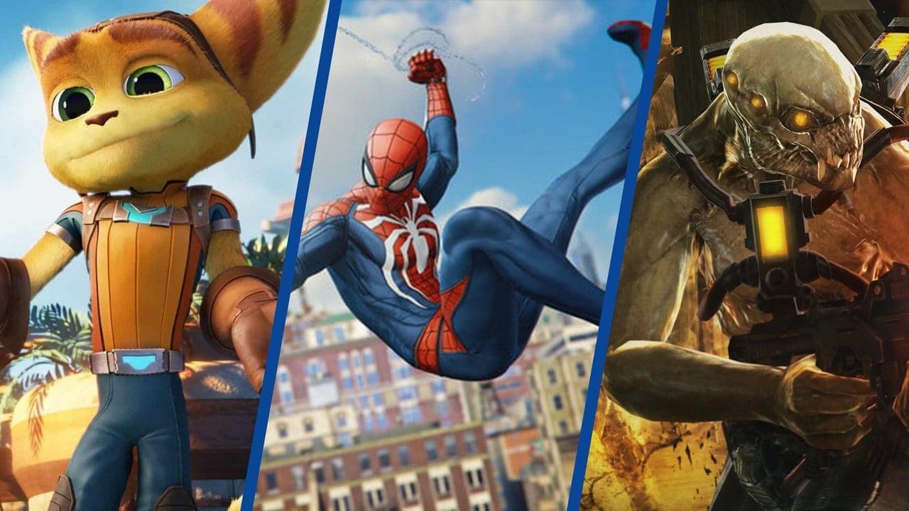 Ratchet & Clank, Marvel's Spider-Man e Resistance, jogos da Insomniac Games