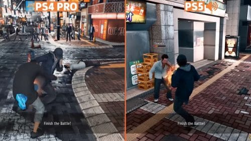 Judgement: video compara desempenho no PlayStation 5 vs. PlayStation 4
