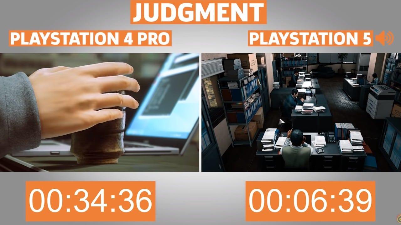 Judgement - ingame loading