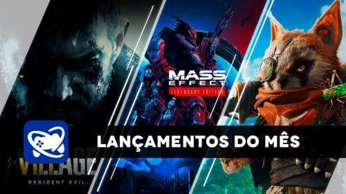 Confira os lançamentos de maio para PlayStation 4 e PlayStation 5