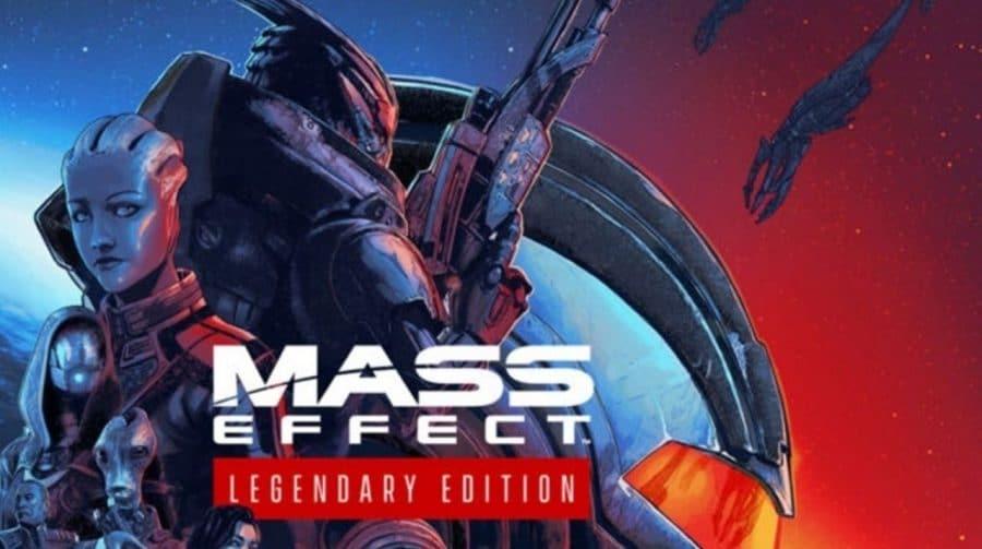 Mass Effect Legendary Edition foi à gold