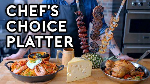 Canal de culinária recria prato de Monster Hunter World