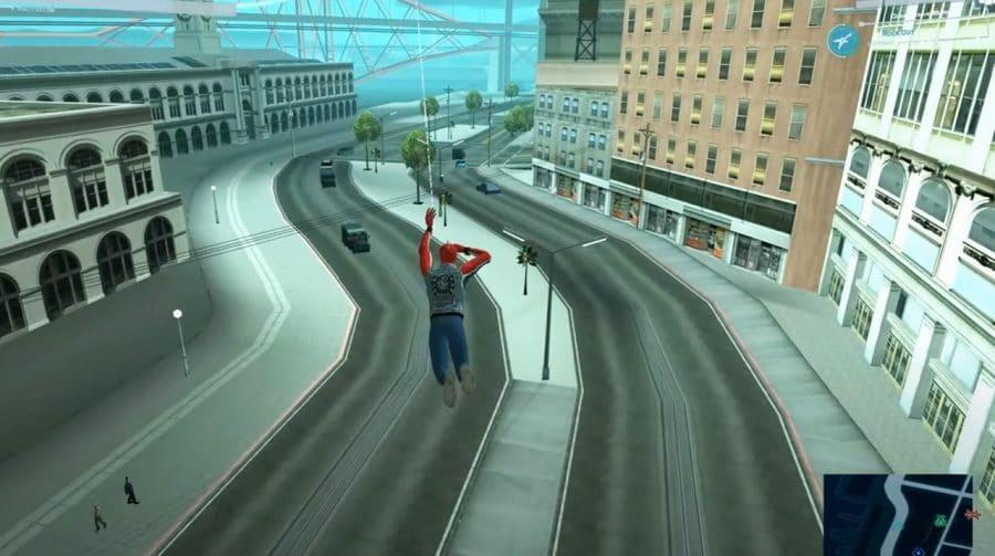 Incrível! Fã cria mod de Marvel's Spider-Man em GTA San Andreas