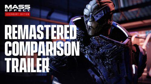 Novo trailer de Mass Effect Legendary Edition destaca as melhorias gráficas