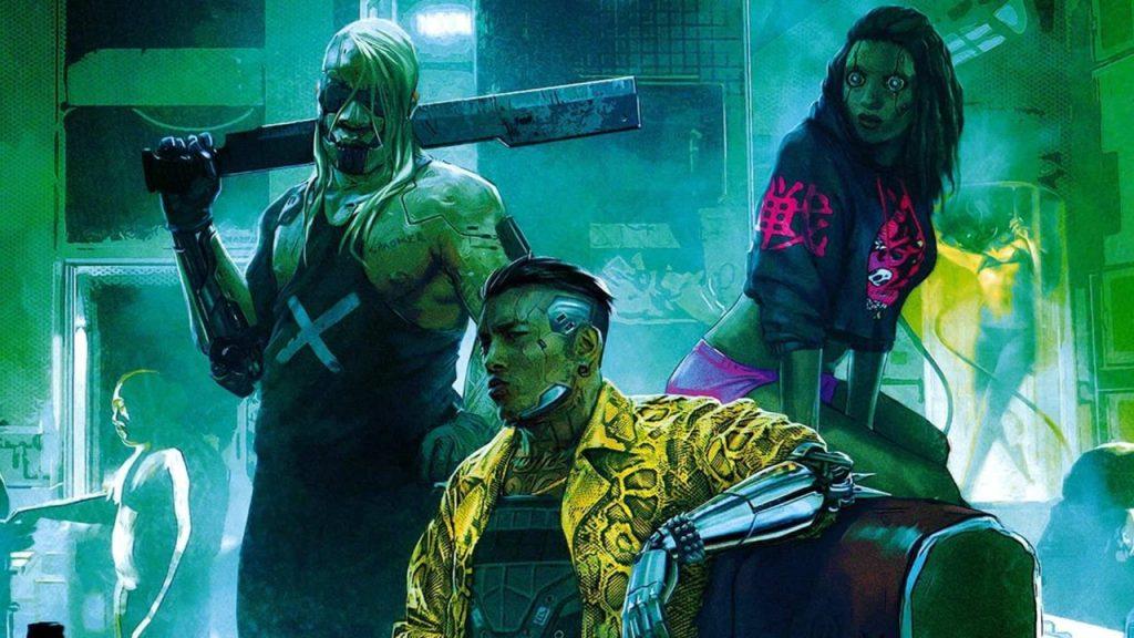 NPCs Cyberpunk 2077