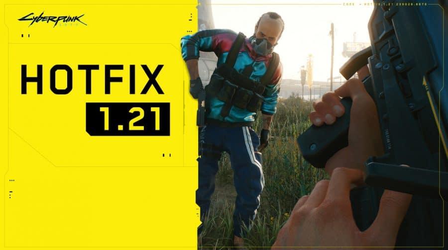 Cyberpunk 2077 recebe novo update para melhorar estabilidade e corrigir bugs