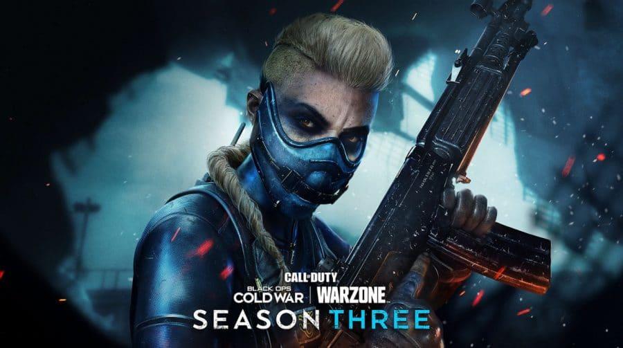 3ª temporada de Warzone e Cold War está disponível; confira todas as novidades!